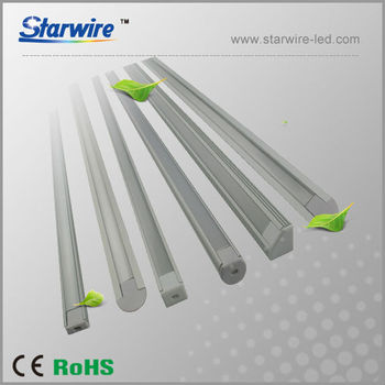 Aluminum Led Profile For Recessed Wall