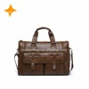 factory directly supply luxurious real leather men bags