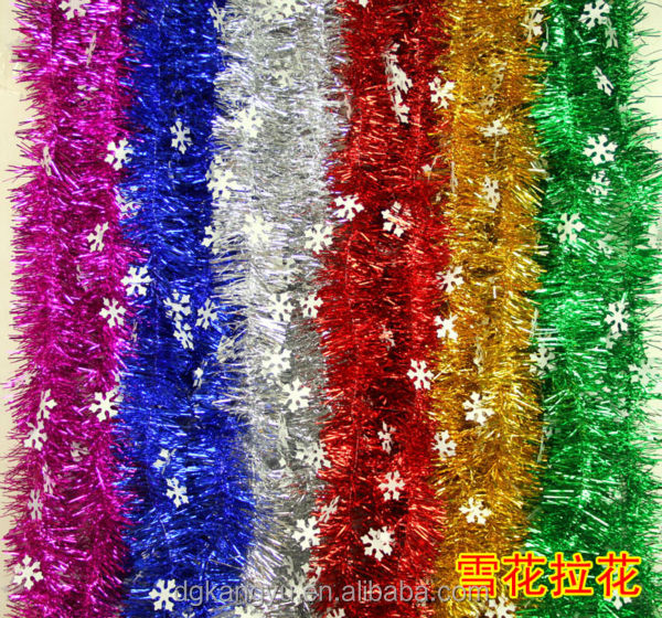stocklot glitter garland tinsel garland for Christams