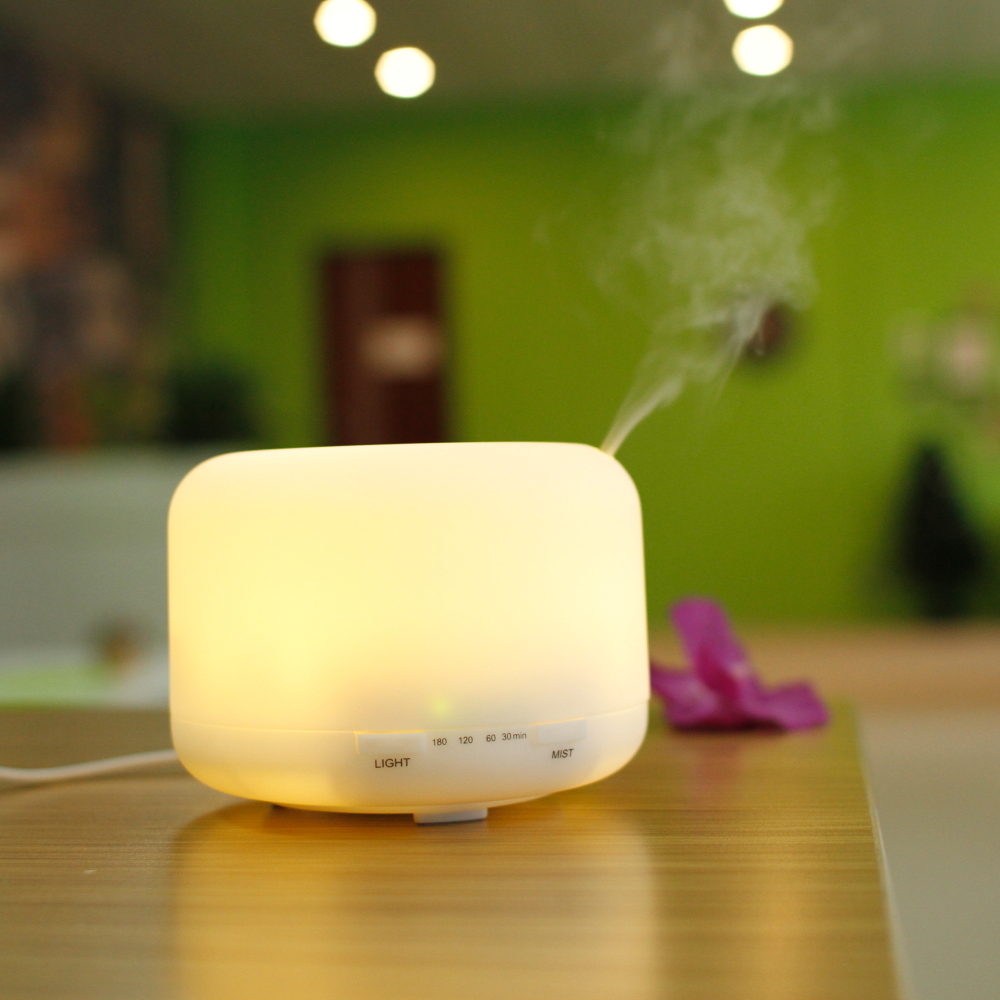 Incense Oil Built-in Timer diffuser / Mini Essential Oil Diffuser Lamp / Aroma Diffuser Portable Electric