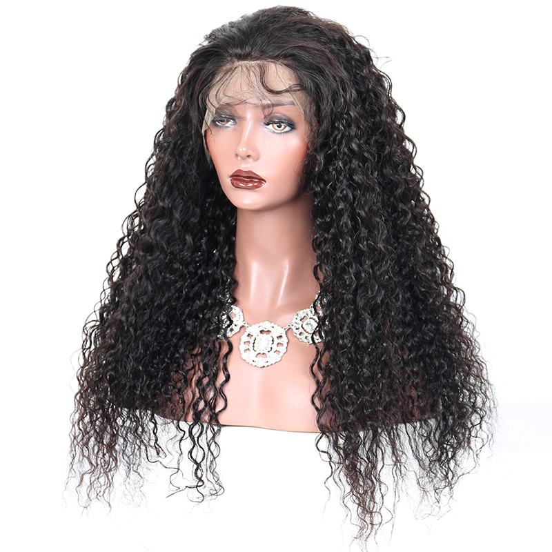 Human Hair Lace Wigs Analytical Luvin 250 Density Lace Front Human Hair Wigs For Black Women Remy Curly 360 Lace Frontal Wigs Pre Plucked With Baby Hair Beautiful In Colour