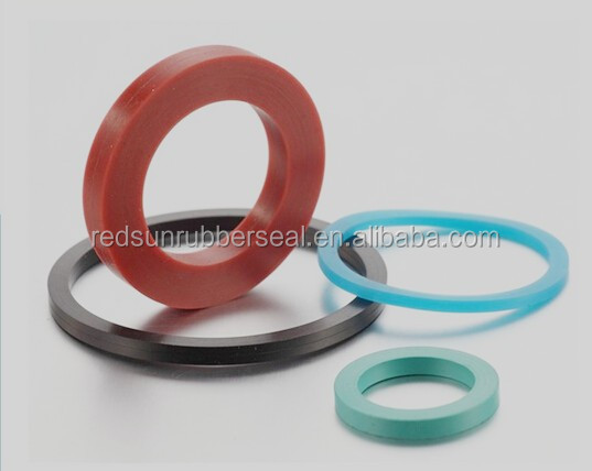 Medical grade silicone rubber seal washer