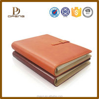 Top selling cheap custom office supplies a7 leather notebook