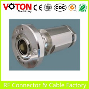 "Zhenjiang 7/8"" EIA Flange Connector For 7/8"" Feeder Cable"