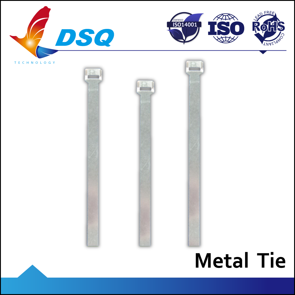 Professional Taiwan Factory Metal Tie Wrap