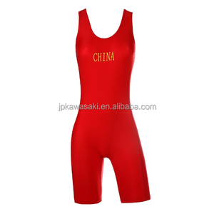 China wrestling suit international freestyle men's women's wrestling dress singlet/girls wrestling uniforms