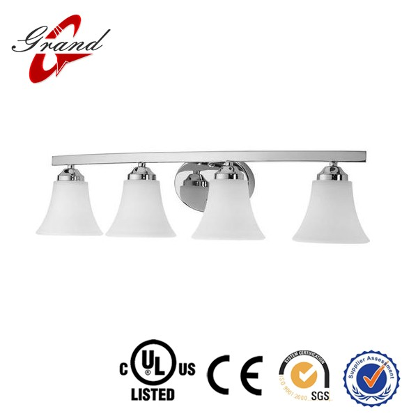 Mass production china supplier best price led bathroom light/vanity light/wall sconce for hotel bathroom or rest room USA