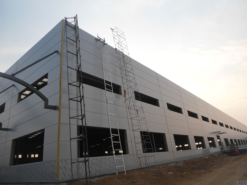 Steel Structure Car Service Center