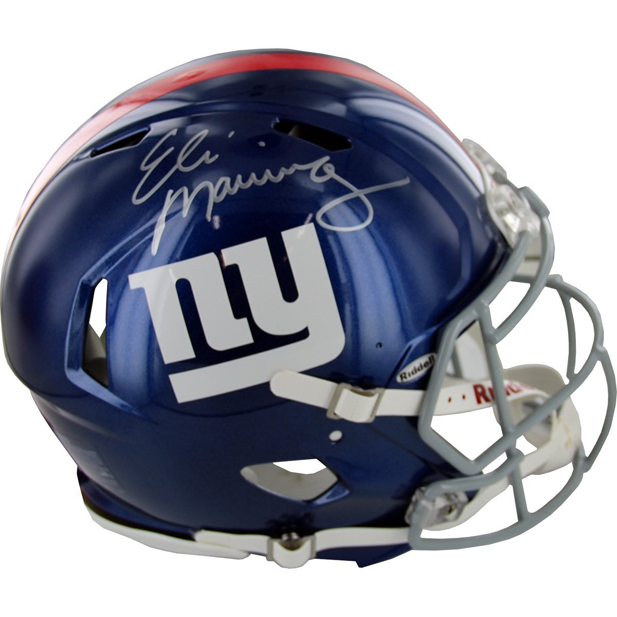 Get Quotations · NFL New York Giants Eli Manning Autographed Authentic  Giants Speed Helmet 6c85f719e
