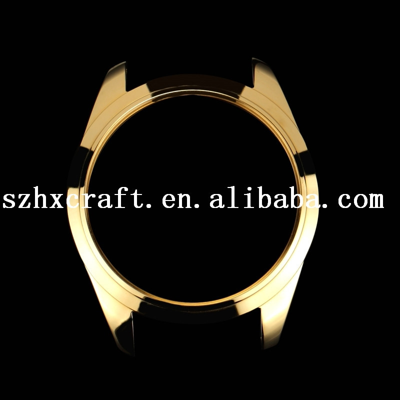 Bronze OEM Accept Watchcase Wristwatch Parts