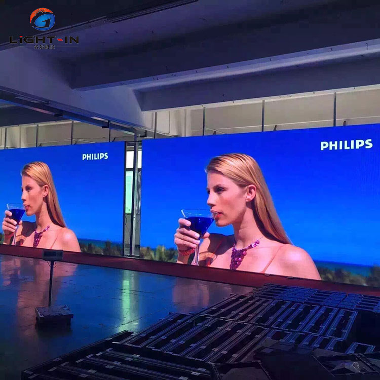 Giant dacing mostra P16 P8 led video led tv video