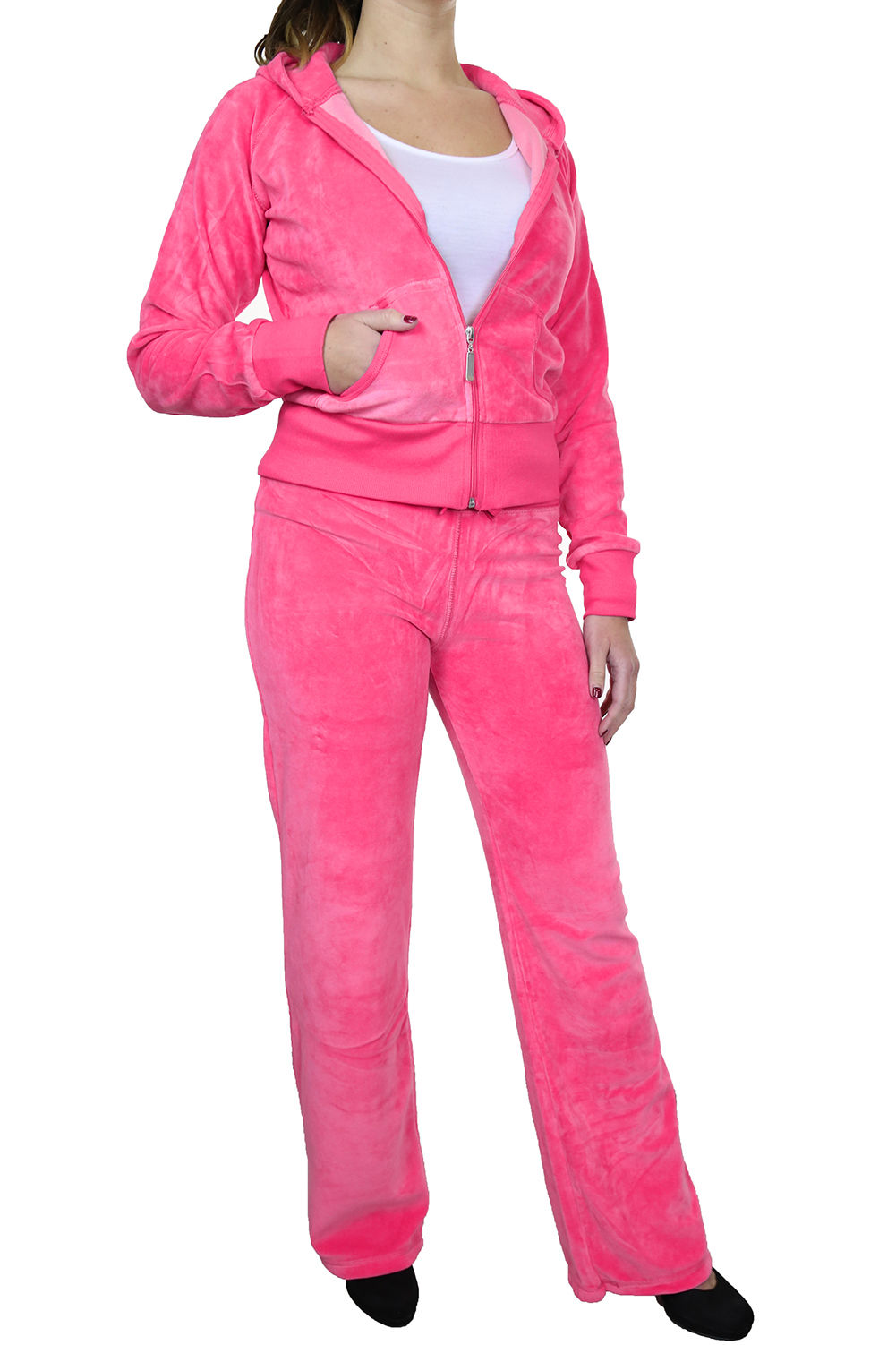 Women's leisure suits are two-piece clothing including tops and bottoms. Many women are fond of leisure suits because leisure suits are perfect collocation with fashion and comfort. Ladies leisure suits are divided into 2 types, dress suits and pant suits. Ericdress offers both dress suits and.