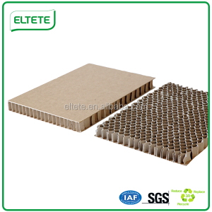 Laminated honeycomb cardboard sheets