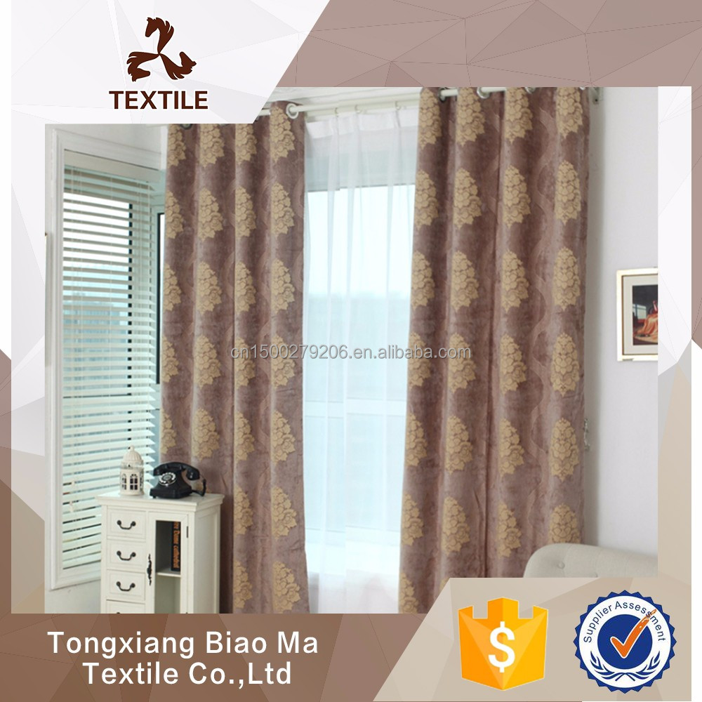 hot selling ready made automatic sunscreen apartment curtain arabic curtains for home
