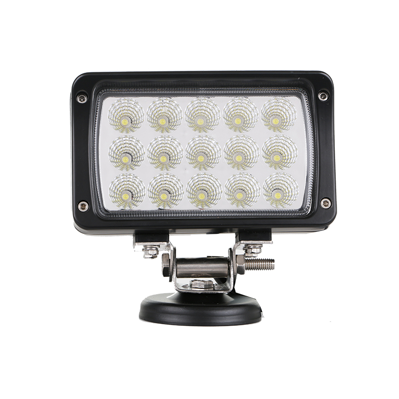 EMS Function solar powered 45W led work light off road lights Truck SUV Boat ATV 4X4 4WD driving light