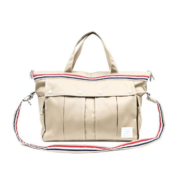 b2333394a9 Calico Cotton Canvas Tote Bag Leather Handles Shoulder Strap - Buy ...