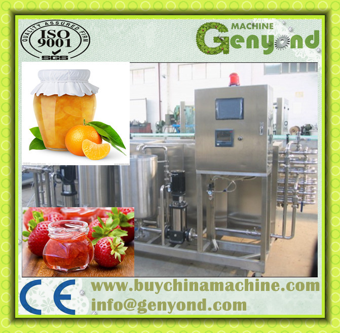 Small Scale Roxburgh Rose Fruit Jam Process Line / Cili Jam ...