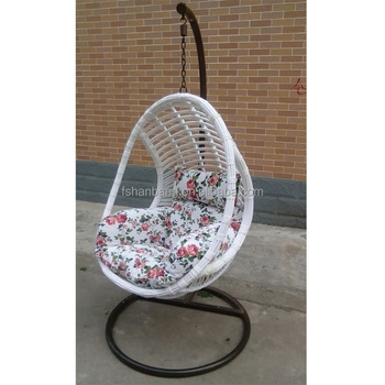 Best Selling Cozy Wicker Hanging Egg Shaped Swing Chair Buy
