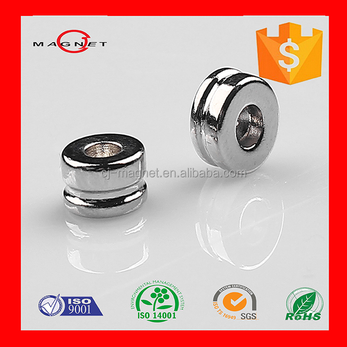 high quality neodymium magnet with <strong>hole</strong> made in China