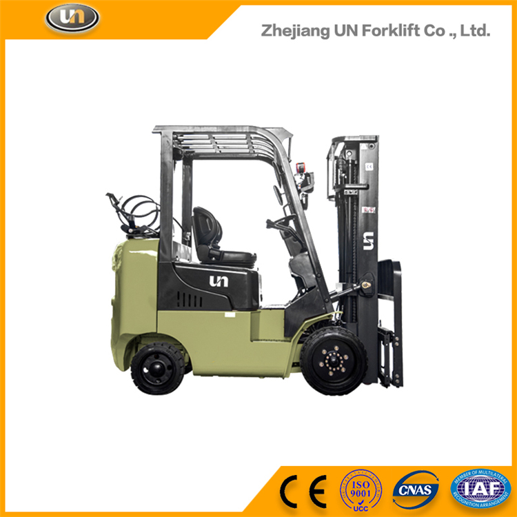 Low Cost 3 Ton Mini Gasoline LPG Engine Forklift Price