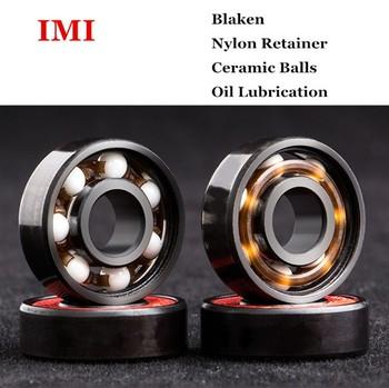 skateboard bearings. 42-0012 abec 9 ceramic skateboard bearings roller skate ball 608 china red e