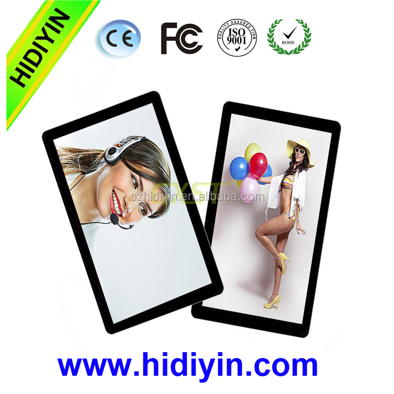 26 inch wall mount led touch screen wifi with calendar advertising display