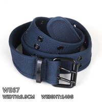Wholesale new arrival unique double-breasted braided belt
