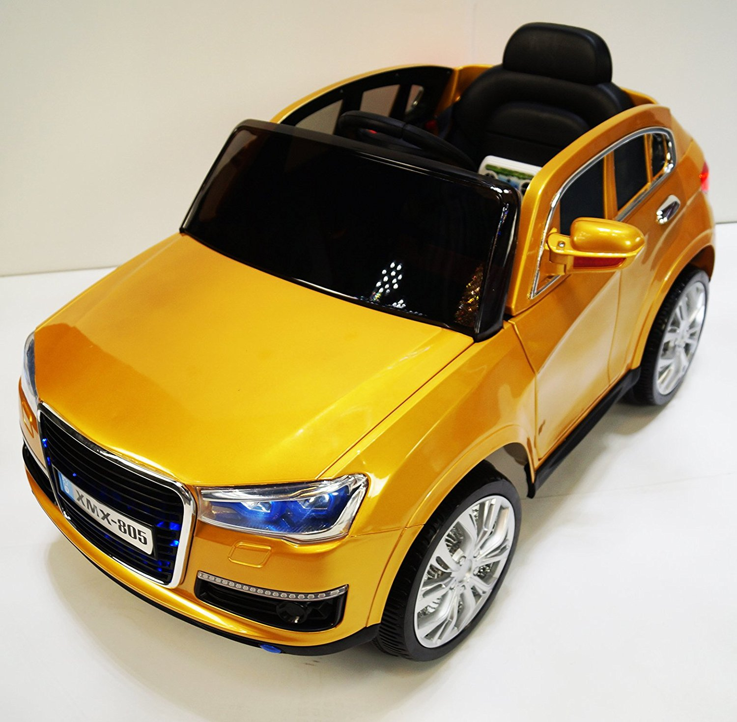 ELECTRIC CAR for kids. AUDI style. RIDE on CAR for kids with remote control to drive. Battery operated, 12V total. 2-7 years.