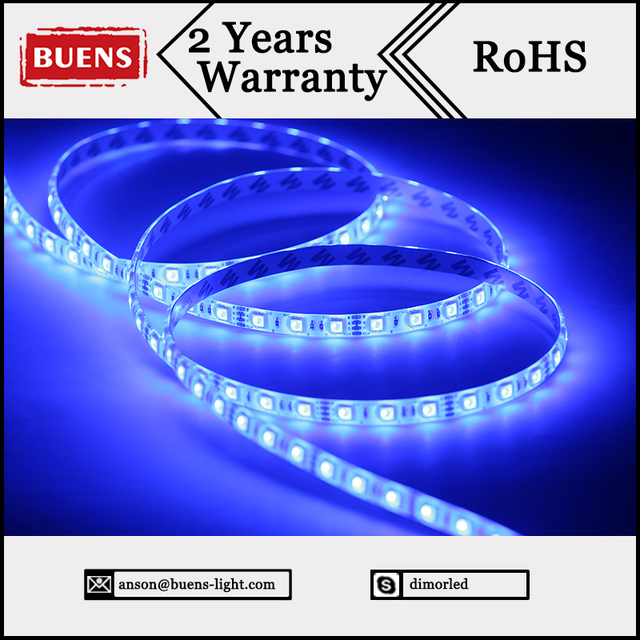 Outdoor Use Waterproof Motorcycle Led Strip Light 5050 60d Rgb 12v