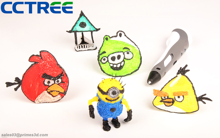 China fabriek direct eerste generatie kids air tekening 3d printer pen