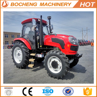 70HP articulated tractor with garden tractor lawn mower