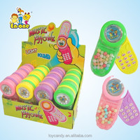 YWD-206 Shining and Musical Phone Toy Candy