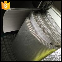 Many styles new fashion alu foil blue foam pipe insulation