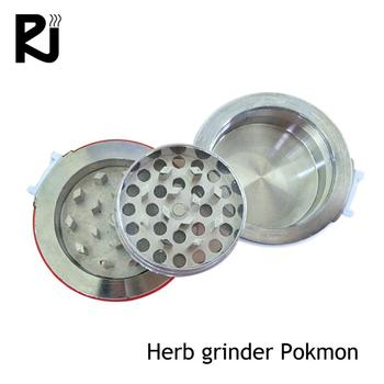manufacture product pokemon with logo wood herb grinder