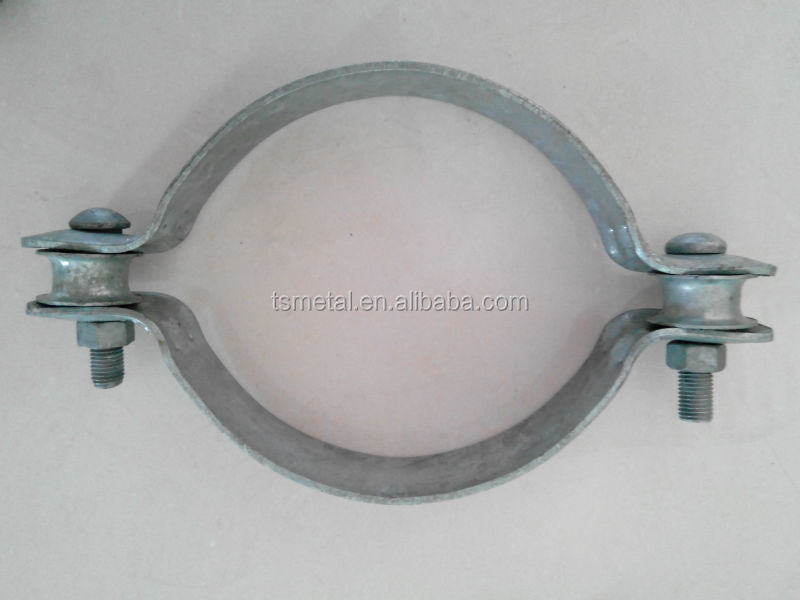 Stamp Galvanized Wall Mount Steel Pipe Cable Clamp - Buy Stainless ...