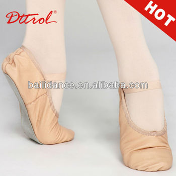 D006182 Dttrol cheap full sole leather ballet flat shoes