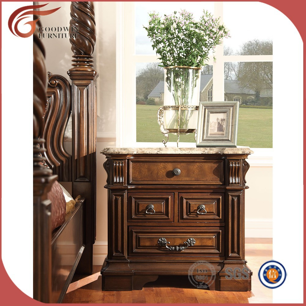 Américain conception ensemble complet antique meubles de chambre à ...