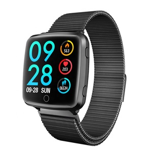 2019 smart bracelet magnetic watch strap pedometer health tracking heart rate blood pressure waterproof sports smart band