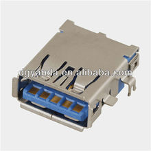New USB 3.0 jack port plug motherboard replacement port SMT PCB Type-A Female