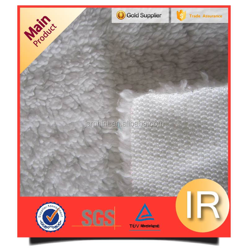 sherpa material by the yard sherpa wool fabric for garment lining