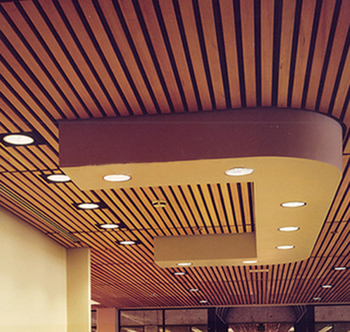 Thermowood House Outdoor Wood Ceiling