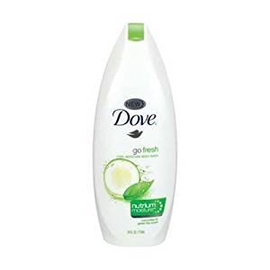 Dove Body Wash Cool Moisture 24 Fl oz Cucumber & Green Tea (6 Pack)