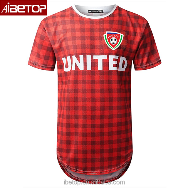 Wholesale Cheap Professional Big And Tall Custom Design Sublimated Thailand  Authentic Used Soccer Jerseys 2017