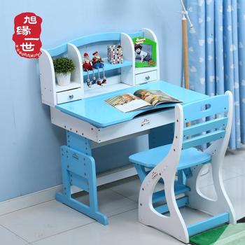 Children Pink White Wooden Kids Writing Portable Study Table And Desk
