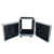 Front & Rear Removable Door Rack Mounted Amp Cases with Stand Gears