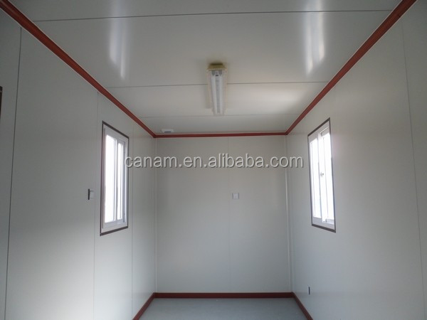 Temporary modern modular home office container