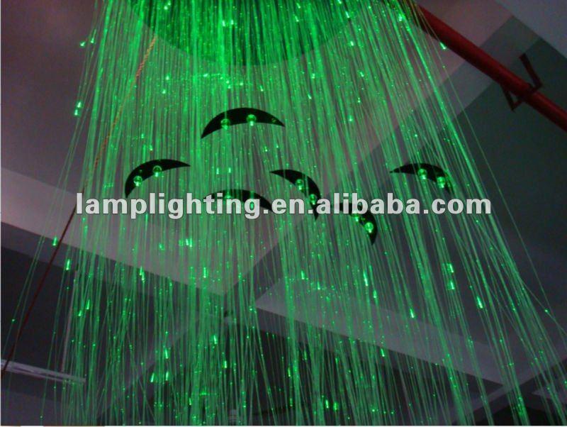 Pl stico llev la l mpara de falso techo de fibra optica - Techos de plastico ...