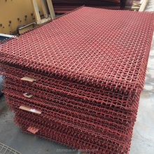 Adopt Medium High Carbon Steel Wire China Vibrating Screen Mesh