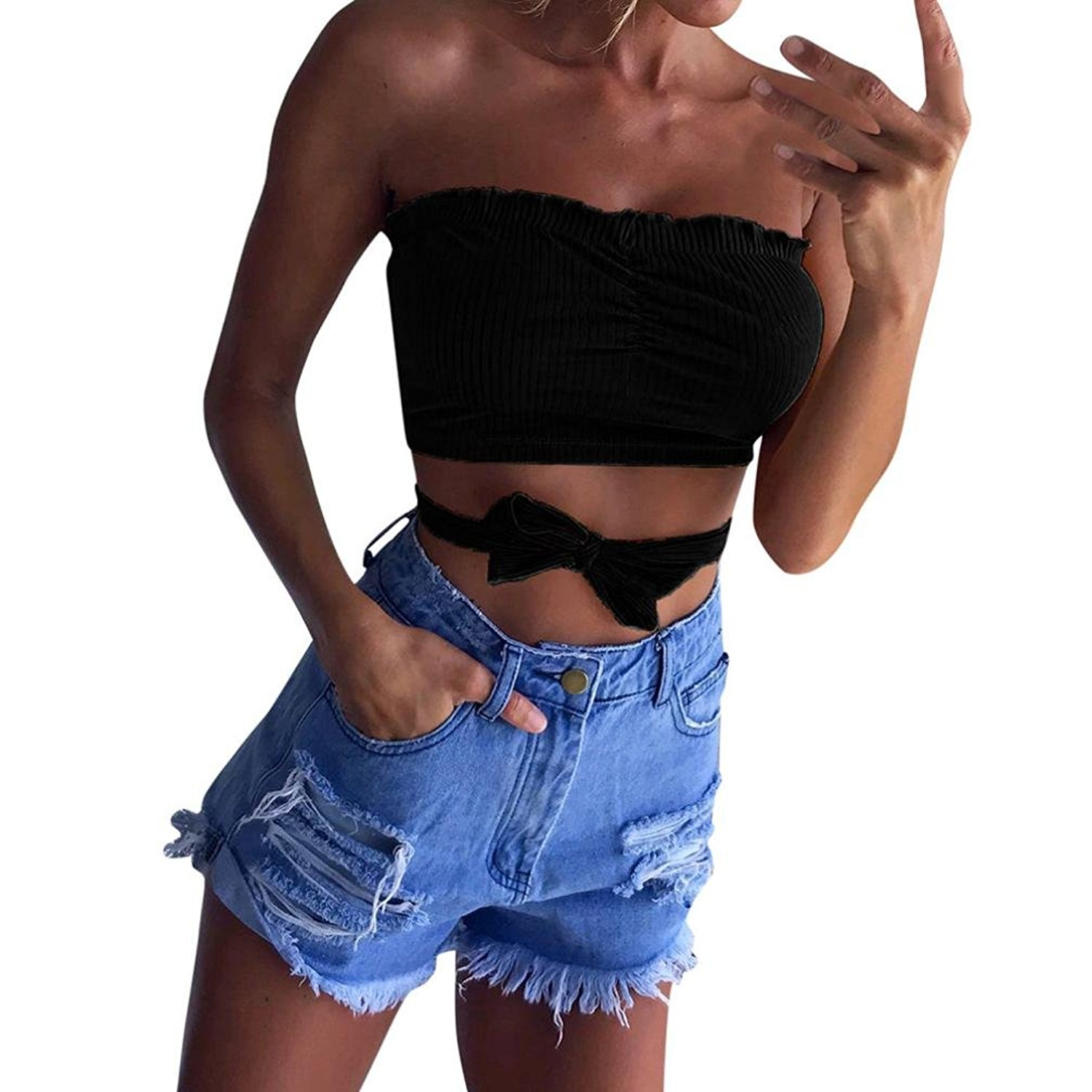 126bcd8edf8 Get Quotations · WuyiMC Breast Wrap for Teen Girls
