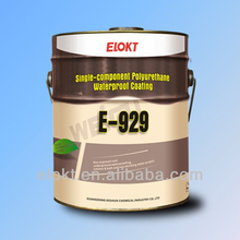 Kitchen polyurethane waterproof coating bituminous paint